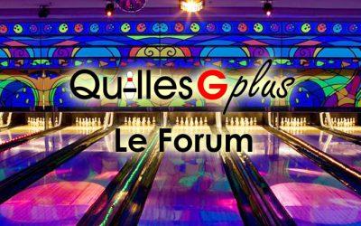Quilles G Plus Le Forum